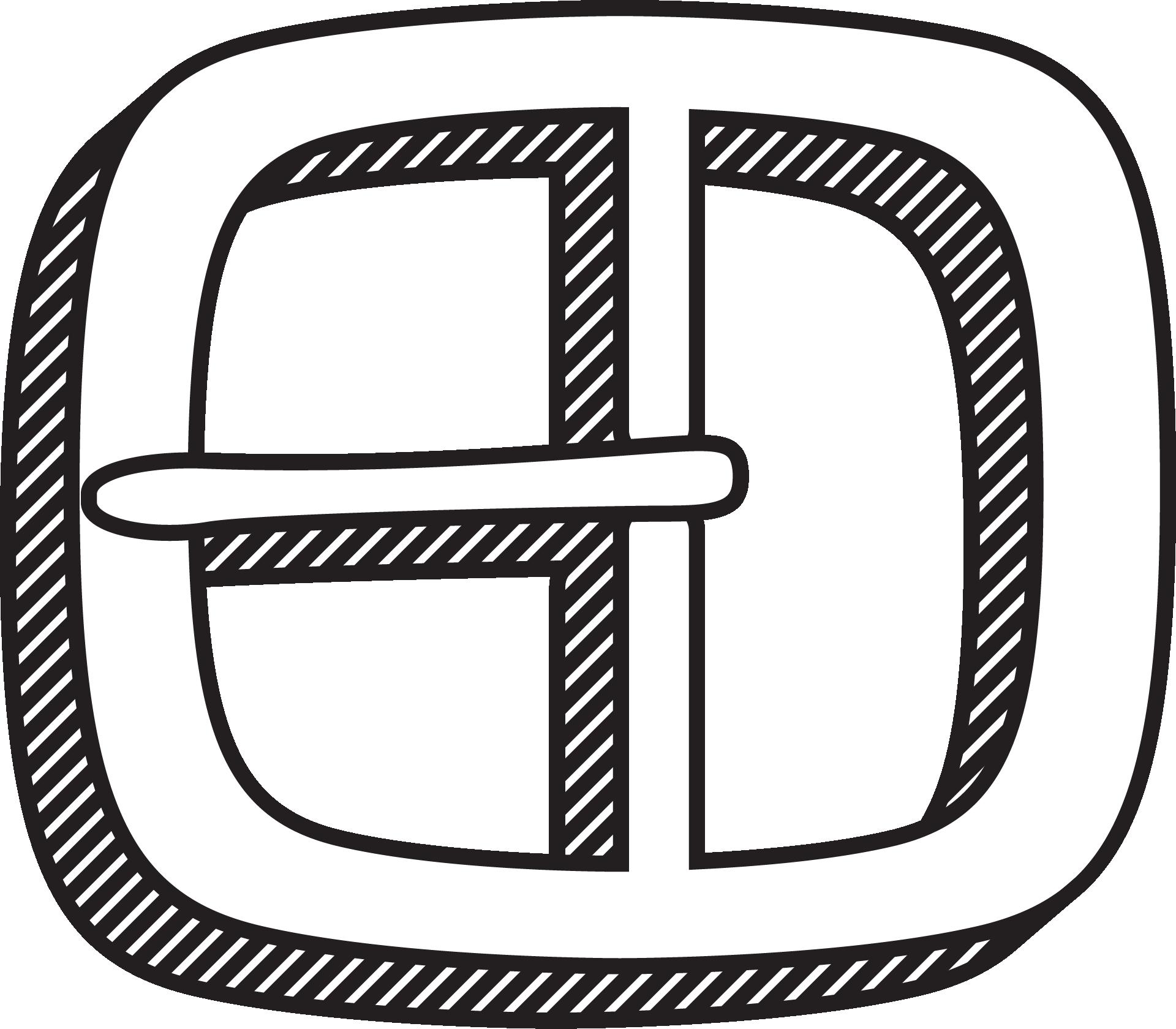 black buckle illustration