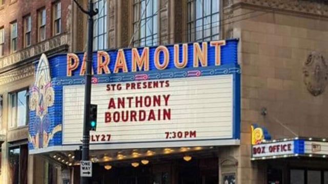 Anthony Bourdain at the Paramount