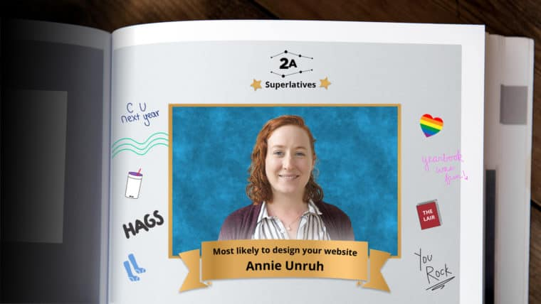 Most likely to design your website? Vote for Annie.