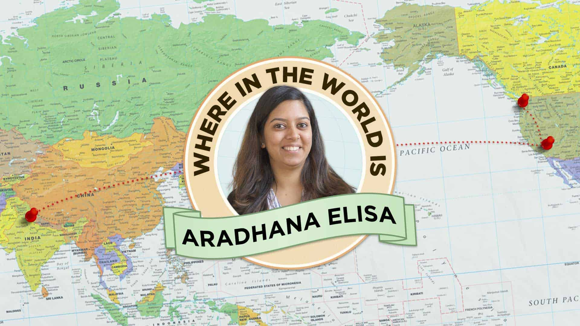 A round (the world) applause for our full-stack developer, Aradhana Elisa